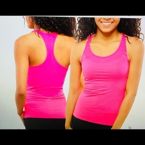ROXY athletic tank hot pink